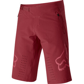 Fox Defend Shorts Heren, cardinal
